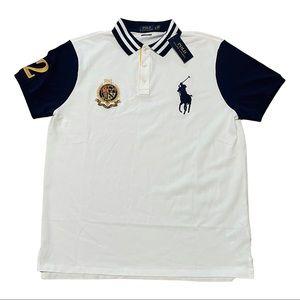 Polo Ralph Lauren Custom Slim Fit Shirt Big logo